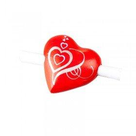 Herznotiz mit Magnet