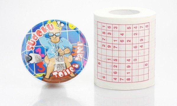 Toilettenpapier - Sudoku (1 Rolle)
