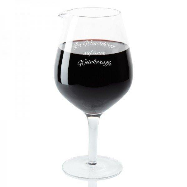 Weindekanter mit Wunschgravur