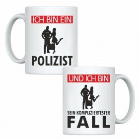 Tassen Set - Ich bin ein Polizist