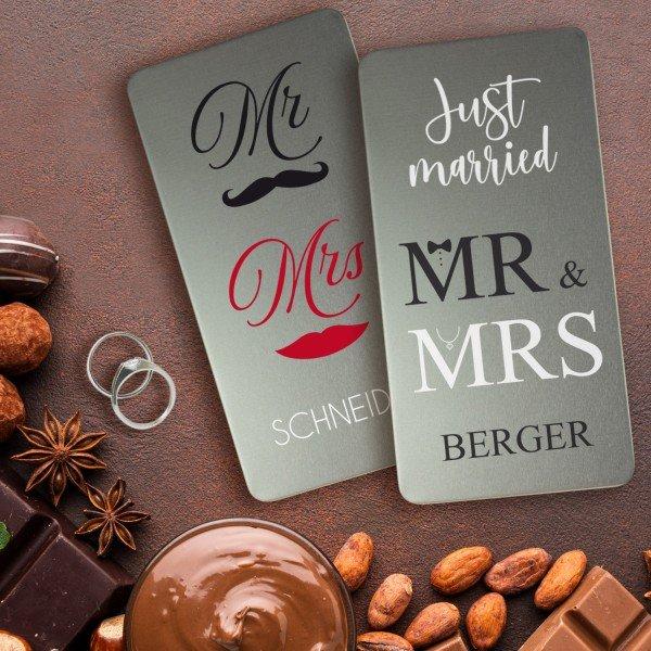 Schokoladenbox - Gutscheinbox - Hochzeit