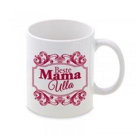 Tasse mit Ornament - Beste Mama