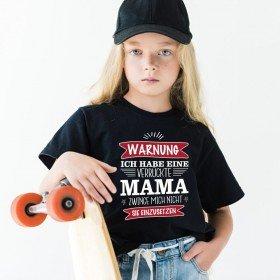 Kindershirt - Ich habe eine total verrückte Mama