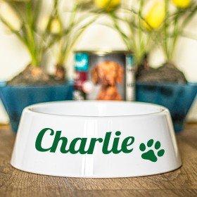 Fressnapf mit Personalisierung - Hundepfote