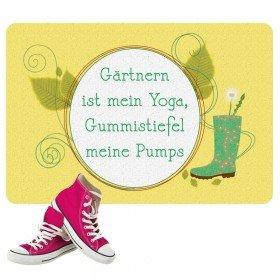 Fußmatte - Gärtnern