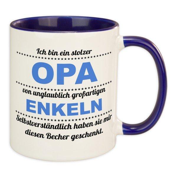 Tasse - stolzer Opa