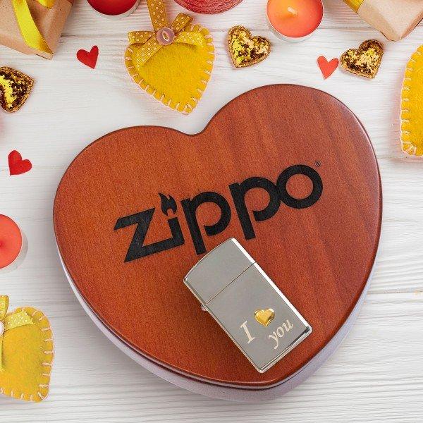 Zippo - I love you mit Personalisierung