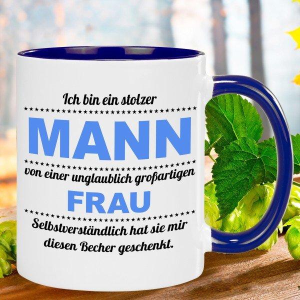 Tasse - stolzer Mann