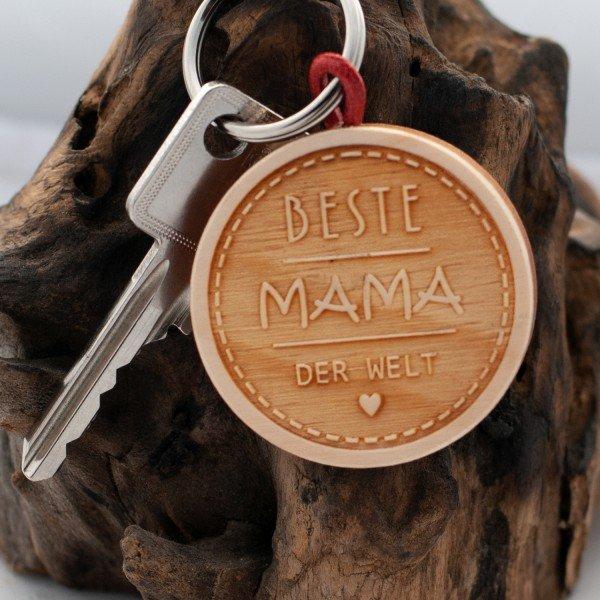 Schlüsselanhänger - Beste Mama der Welt