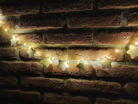 LED Girlande Sterne - DIY
