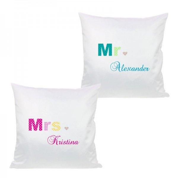 - Kissen Set Mr. und Mrs. - Onlineshop Geschenke24