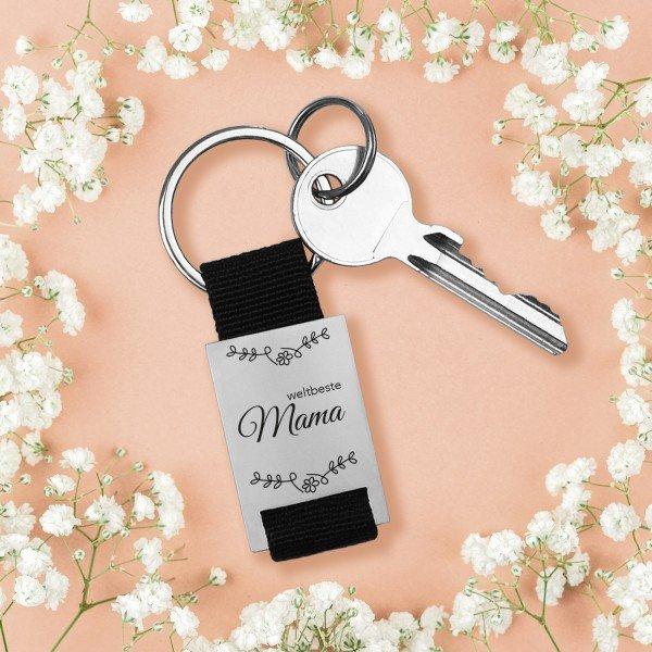 Schlüsselanhänger - Beste Mama