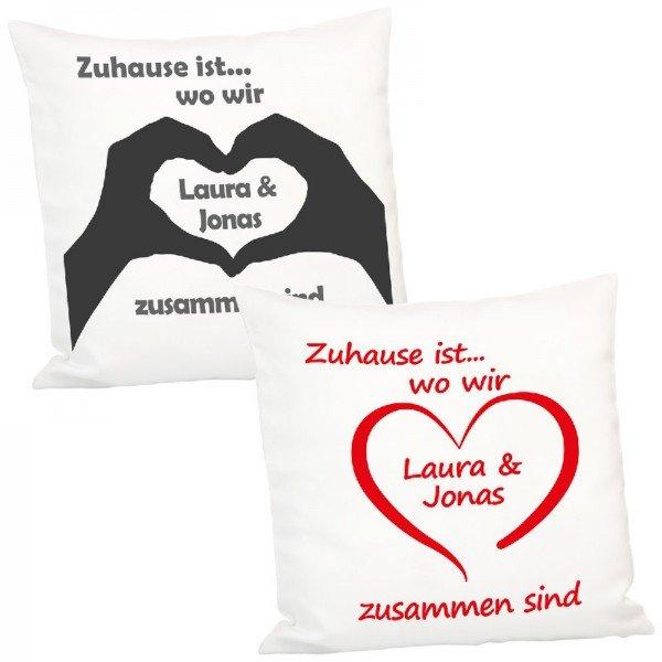Kissen-Zuhause