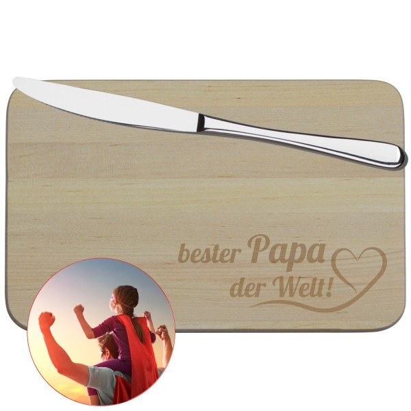 Frühstücksbrettchen - Bester Papa
