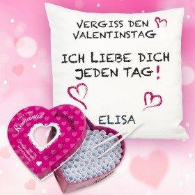 Valentinstags Set mit Liebes - Losbox