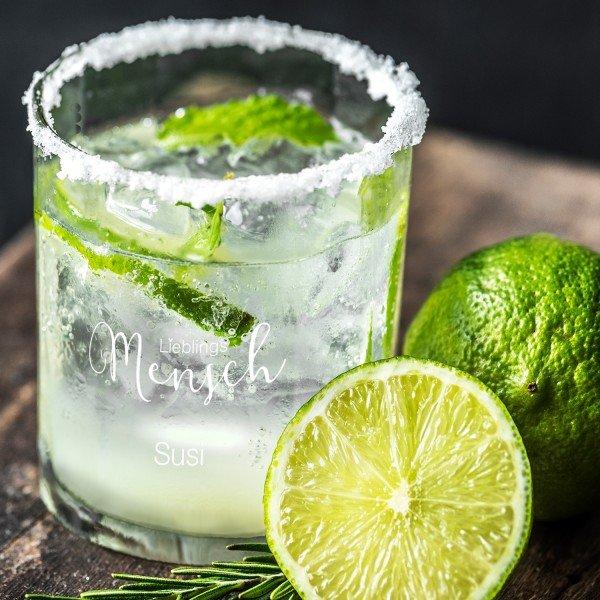 Cocktailglas Whiskyglas Lieblingsmensch mit Gravur