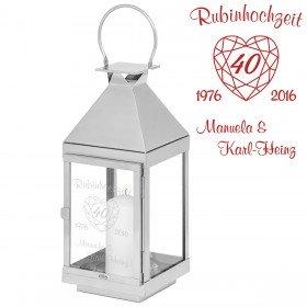 40 Jahre Liebe Originelle Rubinhochzeit Geschenke
