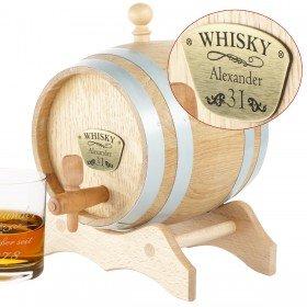 Whiskyfass mit Gravur