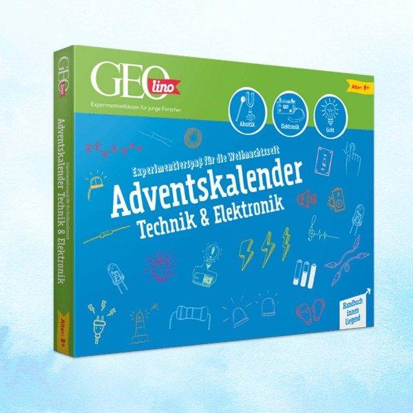 GEOlino-Adventskalender -Technik und Elektronik
