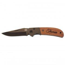 Messer von MetMaxx - Holz mit Gravur