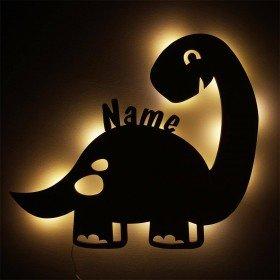 Nachtlicht Dino mit Personalisierung
