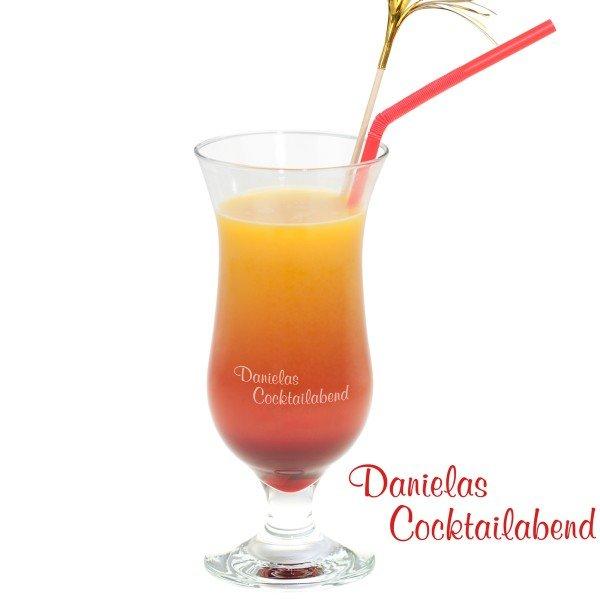 Cocktailglas mit Gravur