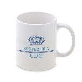 Tasse mit Krone - Bester Opa