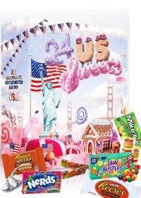 USA Süßigkeiten Adventskalender