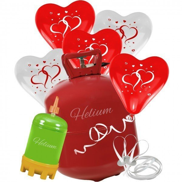 Helium Ballonset zur Hochzeit