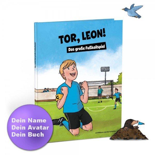 Personalisiertes Kinderbuch - Das große Fußballspiel
