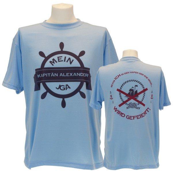 Junggesellenabschied T-Shirt für Männer