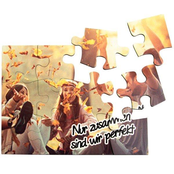 Magnetpuzzle mit Wunschfoto