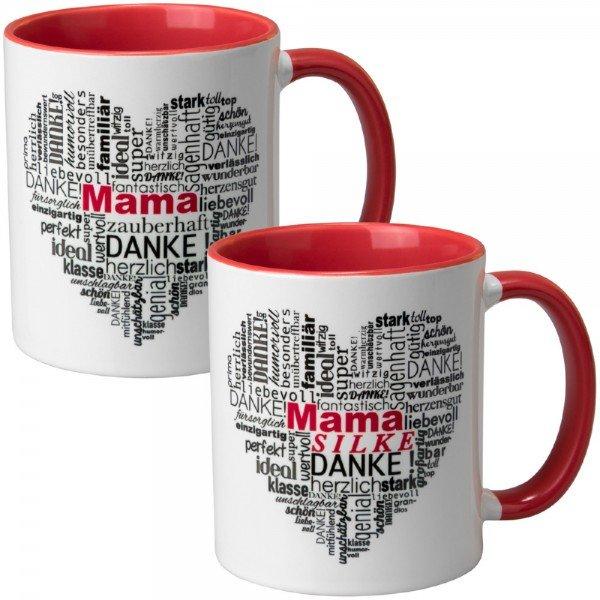 - Tasse Herz aus Worten Muttertag - Onlineshop Geschenke24