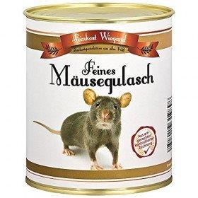 Spaßgeschenk - Mäusegulasch aus der Dose