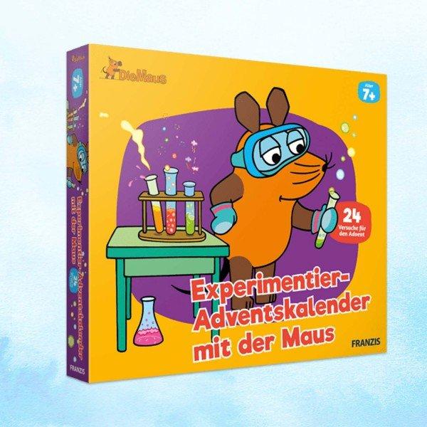Maus-Adventskalender zum Experimentieren