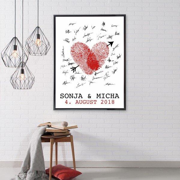 - Gästebuch als Poster - Onlineshop Geschenke24