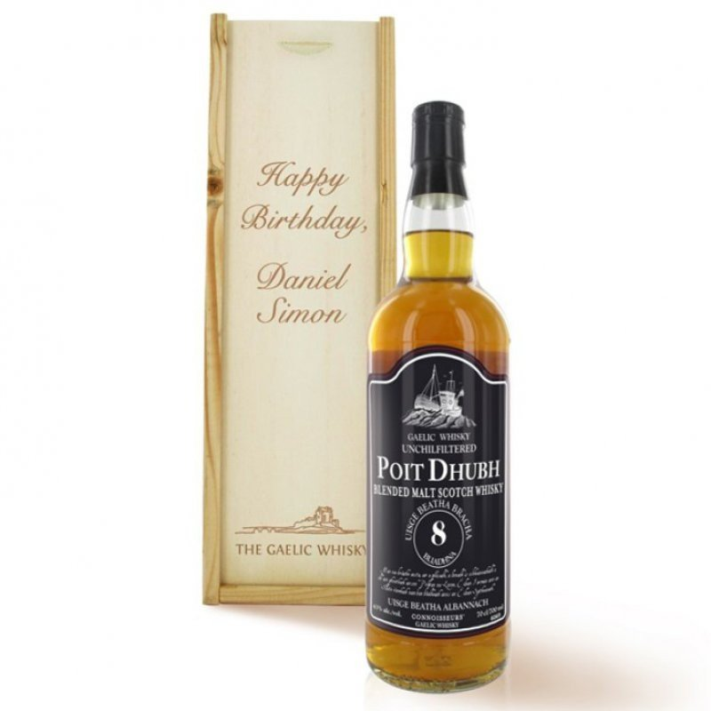 Poit Dhubh - Whisky Geschenk