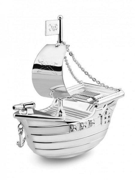 Spardose - Piratenschiff (vorne)