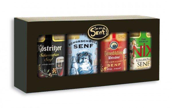 Senf Geschenkset - Bierspezialitäten