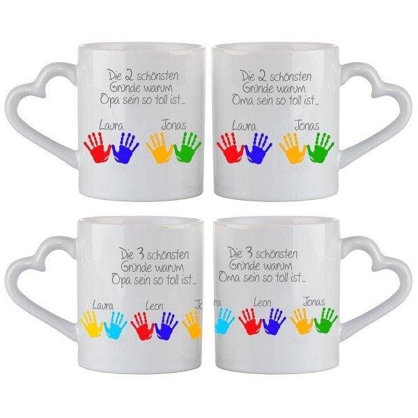 Individuellküchenzubehör - Tasse Schönste Gründe - Onlineshop Geschenke24