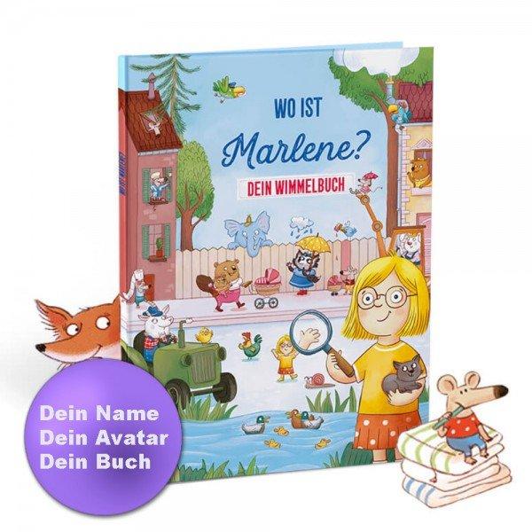 Personalisiertes Kinderbuch - Dein Wimmelbuch