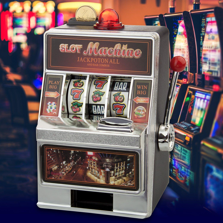 Spardose Spielautomat