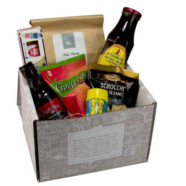 Geschenkebox - vegane Weltreise