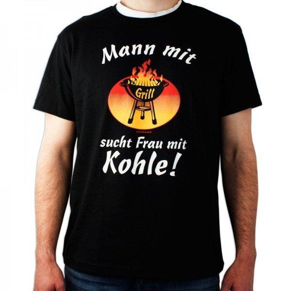 T-Shirt Mann mit Grill
