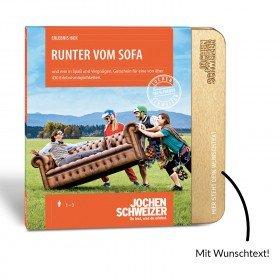 Erlebnis-Box Runter vom Sofa von Jochen Schweizer
