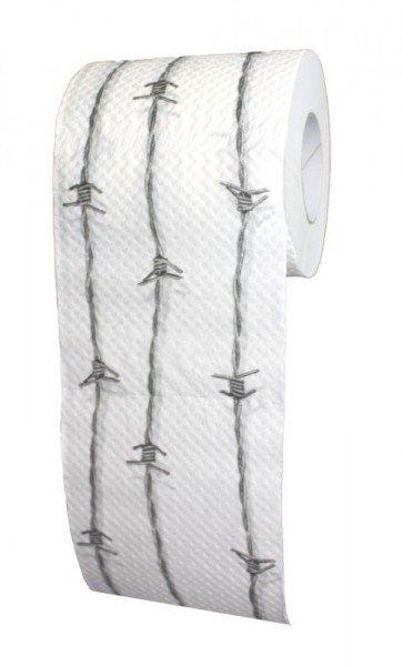 Toilettenpapier - Stacheldraht (1 Rolle)