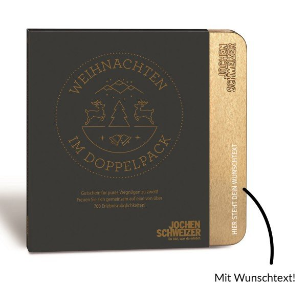 Erlebnis-Box 'Weihnachten im Doppelpack' von Jochen Schweizer