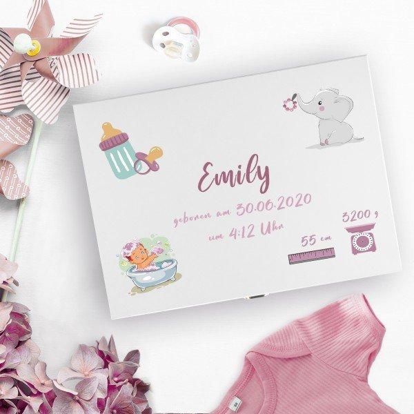 - Erinnerungskiste zur Geburt - Onlineshop Geschenke24
