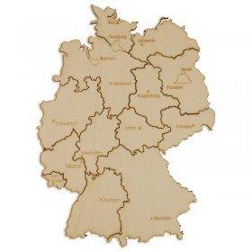 Holzpuzzle Deutschland