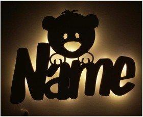 Nachtlicht Teddy mit Namen